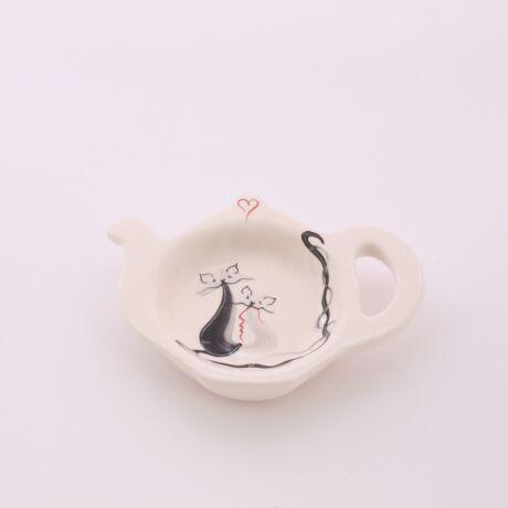 Kis teafiltertartó cicás
