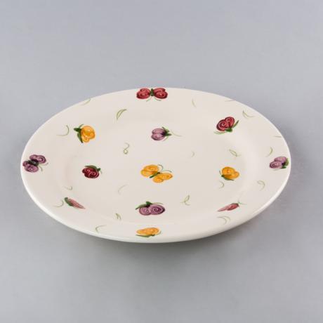 Desszert tányér  pillangós