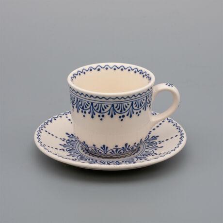 Teás csésze+alj irókás