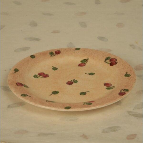 Desszert tányér csipkebogyós