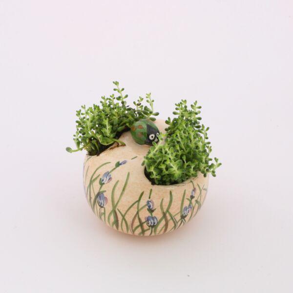 Virágtartó asztali levendulás
