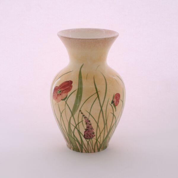 Nagy váza pipacsos